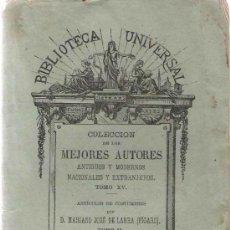 Libros antiguos: ARTÍCULOS ( TOMO II) / MARIANO JOSÉ DE LARRA (FÍGARO).. Lote 25056551
