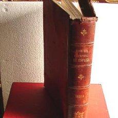 Libros antiguos: HISTORIA GENERAL DE ESPAÑA, POR MODESTO LAFUENTE, EN EDICION DE LUJO. Lote 27072366