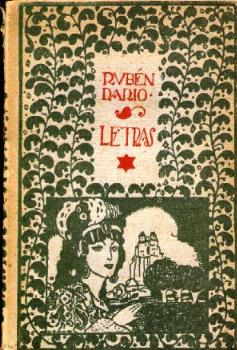 LETRAS, DE RUBÉN DARÍO. (Libros Antiguos, Raros y Curiosos - Literatura - Otros)