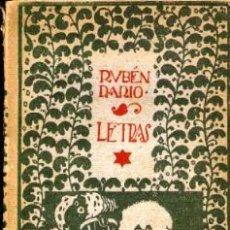 Libros antiguos: LETRAS, DE RUBÉN DARÍO.. Lote 26209441