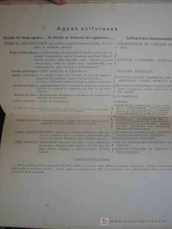 Libros antiguos: GUIA OFICIAL DE BALNEARIOS Y AGUAS MINERO - MEDICINALES 1942 - Foto 4 - 9788247
