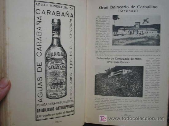 Libros antiguos: GUIA OFICIAL DE BALNEARIOS Y AGUAS MINERO - MEDICINALES 1942 - Foto 3 - 9788247