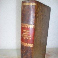 Libros antiguos: QUEVEDO OBRAS SATÍRICAS Y FESTIVAS.-AÑO 1924. Lote 27586382