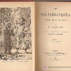Libros antiguos: LES SALTIMBANQUES SCENES DE LA MONTGNE / MME. J. CAZIN; ILUST. DE 64 VIGNETTES PAR E. GIRARDET.. Lote 27276011