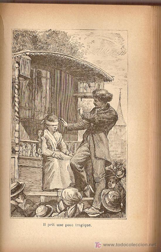 Libros antiguos: Les Saltimbanques scenes de la montgne / Mme. J. Cazin; ilust. de 64 vignettes par E. Girardet. - Foto 2 - 27276011