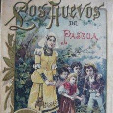 Libros antiguos: LOS HUEVOS DE PASCUA.SATURNINO CALLEJA.93 PG.ILUSTRACCIONES DE MENDEZ BRINGA.10.5X15. Lote 27622675