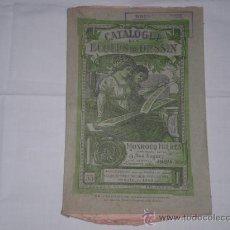 Libri antichi: CATALOGUE DES ECOLES DE DESSIN. AÑO 1923. 112 PP. 24 X 16 CM. ED: MONROCQ FRERES. PARIS. Lote 22917321