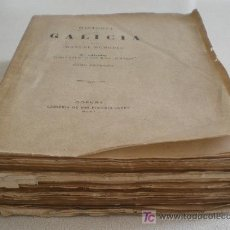 Alte Bücher - HISTORIA DE GALICIA POR MANUEL MURGUIA - TOMO PRIMERO. AÑO 1901 - 25237627