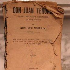 Libros antiguos: DON JUAN TENORIO. EDICCION DE 1914. COMPLETO. Lote 27447562