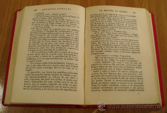 Libros antiguos: LA MENTIRA DE PIETRO. ANTONIO FOSSATI. CASA EDITORIAL MIGUEL ALBERO ( L01 ) - Foto 3 - 24374527