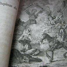 Libros antiguos: QUIJOTE COMPLETO- FRANCIA. LYON AÑO 1781. SEIS TOMOS EN TRES VOLUMENES. Lote 26352491