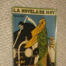 Libros antiguos: LOS OJOS VERDES DE OTILIA, POR R.LÓPEZ DE HARO, ILUSTR. DE VARELA DE S LA NOVELA DE HOY Nº 38, 1923. Lote 22631252