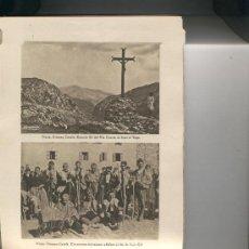 Libros antiguos: LIBRO DE RECUERDO DEL SANTUARIO DE NURIA. AÑO 1931. MUCHAS FOTOS. 46 FOTOS. VALL DE NURIA. . Lote 26039947