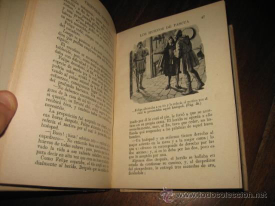 Libros antiguos: LOS HUEVOS DE PASCUA CRISTOBAL SCHMID - Foto 2 - 12132078