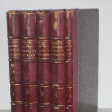 Libros antiguos: AÑO 1856.- HISTORIA DEL REINADO DE CARLOS III. FERRER DEL RIO. 5 VOLÚMENES. IMPRESIONANTE TRABAJO.. Lote 27163846