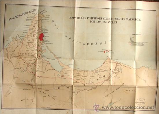 Libros antiguos: ESPAÑA EN MARRUECOS: CRÓNICA DE LA CAMPAÑA DE 1909, POR AUGUSTO RIERA. - Foto 5 - 27092846