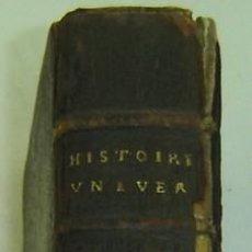 Libros antiguos: DISCOURS SUR L'HISTOIRE UNIVERSELLE-JACQUES BENIGNE BOSSUET-PARIS- AÑO 1724. Lote 10583666