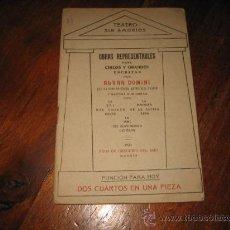 Libros antiguos: DOS CUARTOS EN UNA PIEZA . Lote 10606654