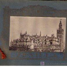 Libros antiguos: SEVILLA. LIBRO (18X25) CON 36 VISTAS DE SEVILLA A UNA SOLA CARA. CIRCA 1929. Lote 17441930