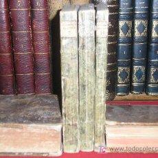 Libros antiguos: 1805 NOVELAS EXEMPLARES DE MIGUEL DE CERVANTES. EN GOTHA POR STEUDEL Y KEIL. 3 TOMOS. RARISIMO. Lote 27413338