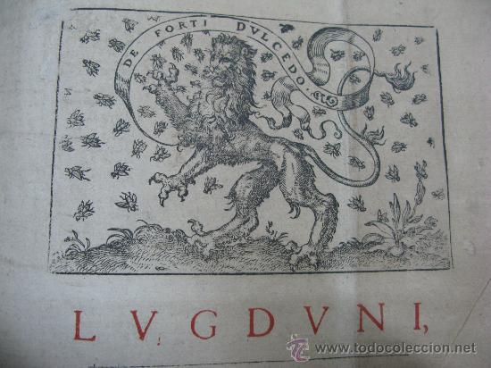 Libros antiguos: DECRETUM GRATIANI -LVGDVN AÑO 1584- FOLIO MAYOR PORTADA Y TEXTO A DOS TINTAS - Foto 3 - 27339413