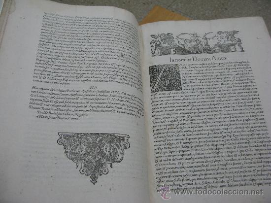 Libros antiguos: DECRETUM GRATIANI -LVGDVN AÑO 1584- FOLIO MAYOR PORTADA Y TEXTO A DOS TINTAS - Foto 6 - 27339413