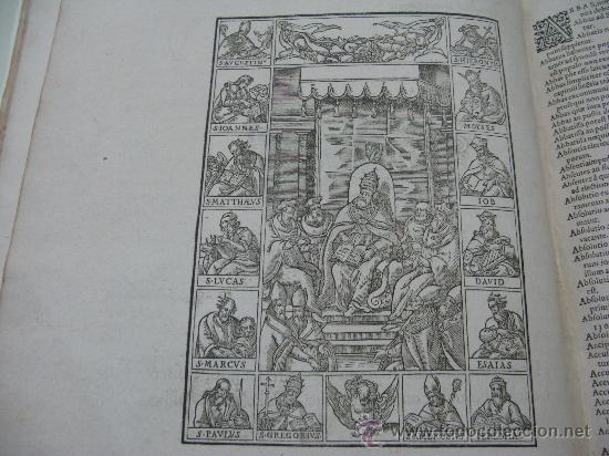 Libros antiguos: DECRETUM GRATIANI -LVGDVN AÑO 1584- FOLIO MAYOR PORTADA Y TEXTO A DOS TINTAS - Foto 8 - 27339413