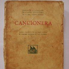 Libros antiguos: CANCIONERA. ALVAREZ QUINTERO.1924. Lote 24180571