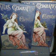 Libros antiguos: ATLAS GEOGRAFICO DE ESPAÑA. Lote 27392247