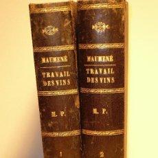 Libros antiguos: TRAVAIL DES VINS - TRAITE THEORIQUE ET PRATIQUE DU TRAVAIL DES VINS - 3ª EDIC. EN FRANCÉS - AÑO 1890. Lote 26933423