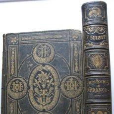 Libros antiguos: FRANÇOIS GUIZOT. HISTOIRE DE FRANCE. 3 VOLS. 1874-1875. Lote 26581887