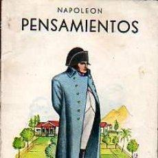Libros antiguos: MINI LIBRO PENSAMIENTOS NAPOLEON - . Lote 11042264