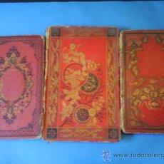 Libros antiguos: LOTE DE TRES ANTIGUOS LIBROS ESCRITOS EN FRANCES VER FOTOGRAFIAS Y LEER DESCRIPCION MIRALO+. Lote 26790691