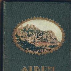 Libros antiguos: ALBUM MERAVELLA. VOLUM I COMARQUES DE BARCELONA LLIBRE DE BELLESES NATURALS I ART DE CATALUNYA, 1929. Lote 24991278
