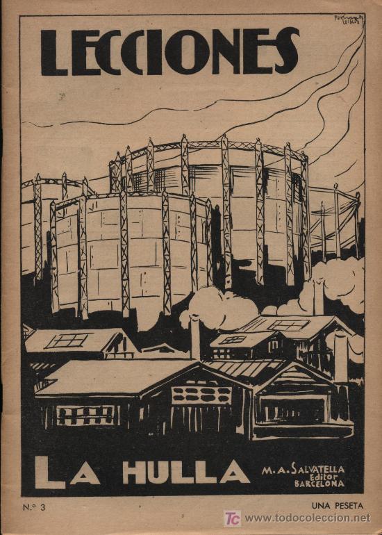 LECCIONES. ED. SALVATELLA. Nº 3 (Libros Antiguos, Raros y Curiosos - Ciencias, Manuales y Oficios - Otros)