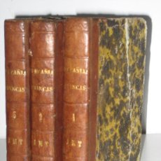 Libros antiguos: 1855.- MASONERIA?. LAS COMPAÑIAS FRANCAS O LOS REBELDES EN TIEMPO DE CARLOS V. 3 TOMOS. Lote 27388028
