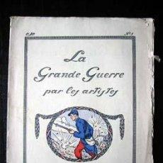 Libros antiguos: LA GRANDE GUERRE PAR LES ARTISTES, FASCICULE Nº 1, 1914.. Lote 26765040