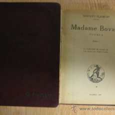 Libros antiguos: MADAME BOVARY, 2 TOMOS, EDITORIAL CALPE 1923. Lote 15383749