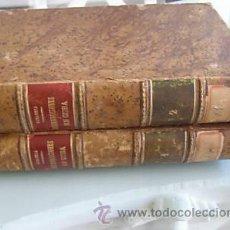 Libros antiguos: LAS INSURRECCIONES EN CUBA 1872 JUSTO ZARAGOZA EN 2 TOMOS IMPECABLE ORIGINAL DE EPOCA LIBROS. Lote 22355984