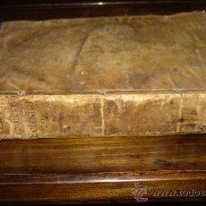 Libros antiguos: 1738 - HISTORIA DE ESPAÑA Y AMÉRICA. UNIÓN DE LOS DOS CUCHILLOS, PONTIFICIO Y REGIO. GRAN FOLIO PERG. Lote 27237612