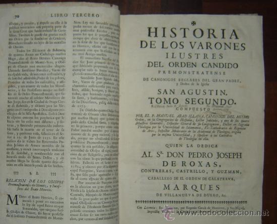 Libros antiguos: 1760 - GRAN HISTORIA DE LOS VARONES ILUSTRES DE ESPAÑA. SALAMANCA.PUEDE PAGARSE A PLAZOS - Foto 3 - 26988661