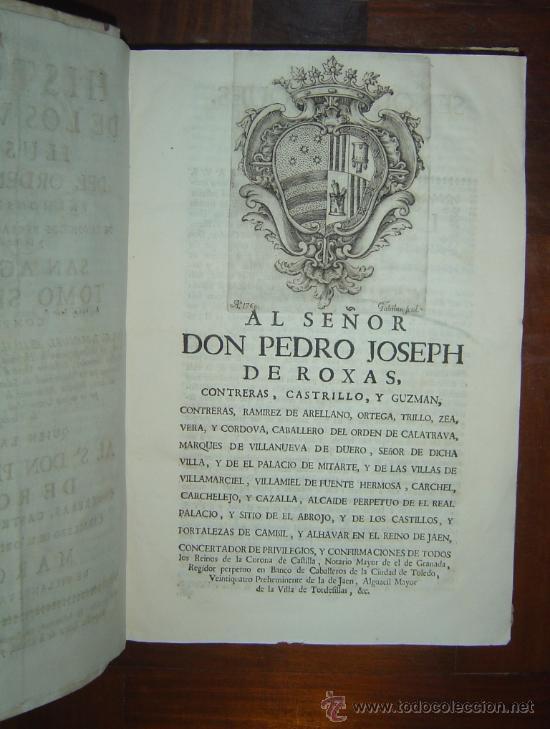 Libros antiguos: 1760 - GRAN HISTORIA DE LOS VARONES ILUSTRES DE ESPAÑA. SALAMANCA.PUEDE PAGARSE A PLAZOS - Foto 5 - 26988661