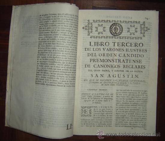 Libros antiguos: 1760 - GRAN HISTORIA DE LOS VARONES ILUSTRES DE ESPAÑA. SALAMANCA.PUEDE PAGARSE A PLAZOS - Foto 13 - 26988661