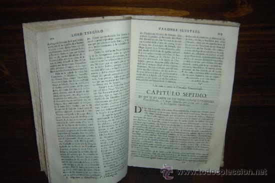 Libros antiguos: 1760 - GRAN HISTORIA DE LOS VARONES ILUSTRES DE ESPAÑA. SALAMANCA.PUEDE PAGARSE A PLAZOS - Foto 14 - 26988661