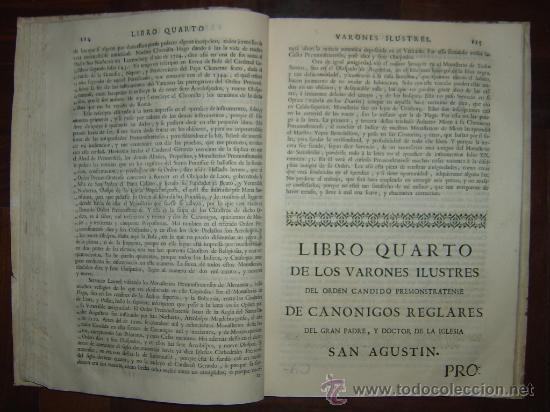 Libros antiguos: 1760 - GRAN HISTORIA DE LOS VARONES ILUSTRES DE ESPAÑA. SALAMANCA.PUEDE PAGARSE A PLAZOS - Foto 15 - 26988661