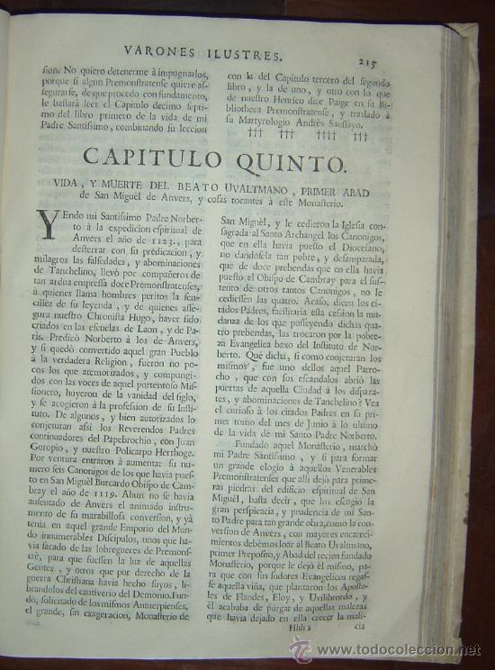 Libros antiguos: 1760 - GRAN HISTORIA DE LOS VARONES ILUSTRES DE ESPAÑA. SALAMANCA.PUEDE PAGARSE A PLAZOS - Foto 17 - 26988661