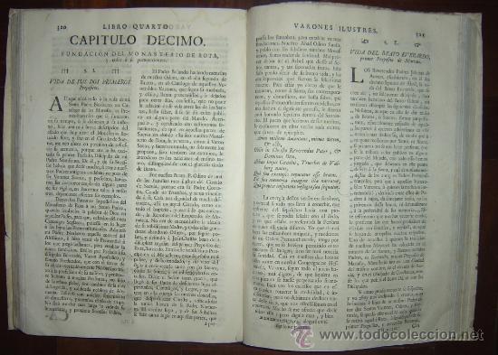 Libros antiguos: 1760 - GRAN HISTORIA DE LOS VARONES ILUSTRES DE ESPAÑA. SALAMANCA.PUEDE PAGARSE A PLAZOS - Foto 18 - 26988661
