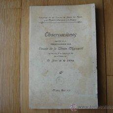 Libros antiguos: FERROCARRILES, 1915. COMPAÑÍAS DE LOS CAMINOS DE HIERRO DEL NORTE Y DE MADRID A ZARAGOZA Y ALICANTE.. Lote 27025638