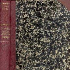 Libros antiguos: 1899 BARCOS CAÑONES Y FUSILES LA GUERRA HISPANO AMERICANA. Lote 24347464