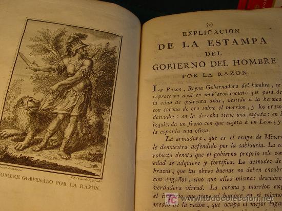 Libros antiguos: GOBIERNO DEL HOMBRE POR LA RAZON - PARTE I - LORENZO BORDELON - 1786 - VDA. DE IBARRA - MADRID - - Foto 5 - 176187763